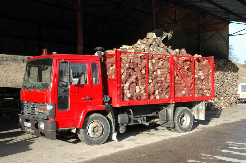 Vente de bois de Chauffage dans le Haut Doubs # Camion De Bois De Chauffage